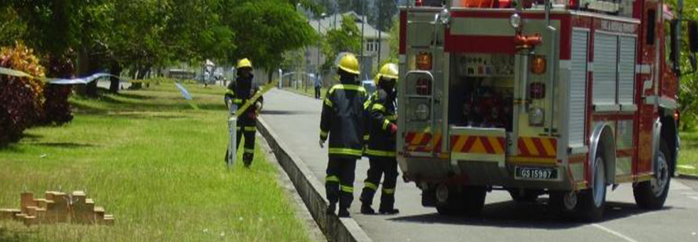 Seychelles Fire and Rescue services